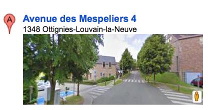 Avenue des mespeliers 4