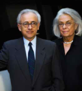 Damasio et sa femme