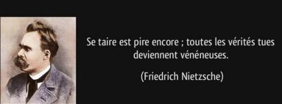 Friedrich Nietzsche. Se taire